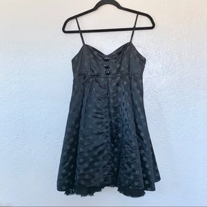 Betsey Johnson Black Cocktail Dress w/ Pockets